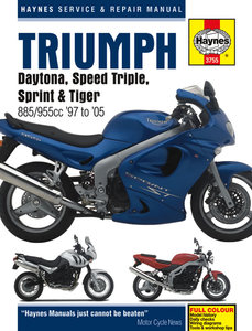 Triumph Fuel Injected Triples [1997-2005] Haynes manual