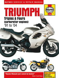 Triumph Triples and Fours [1991-2004] Haynes manual