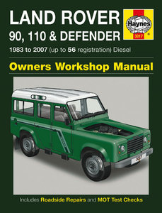 Land Rover 90, 110 & Defender [1983-2007] Haynes manual