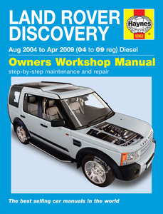 Land Rover Discovery [2004-2009] Haynes manual