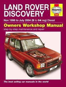 Land Rover Discovery [1998-2004] Haynes manual
