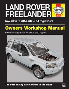 Land Rover Freelander [2006-2014] Haynes manual