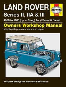 Land Rover Series II, IIA & III [1958-1985] Haynes manual