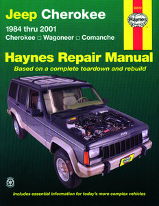 Jeep Cherokee, Wagoneer and Comanche [1984-2001] Haynes manual