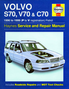 Volvo S70, V70 & C70 [1996-1999] Haynes manual