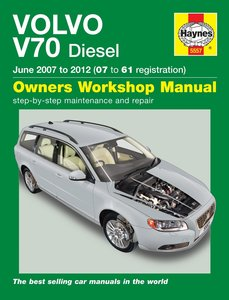 Volvo V70 [2007-2012] Haynes manual