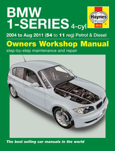 BMW 1 serie [2004-2011] Haynes manual