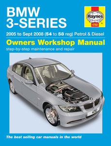 BMW 3 serie [2005-2008] Haynes manual