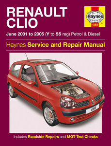 Renault Clio [2001-2005] Haynes manual