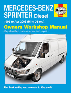 Mercedes Sprinter [1995-2006] Haynes manual