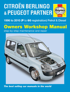 Peugeot Partner [1996-2010] Haynes manual