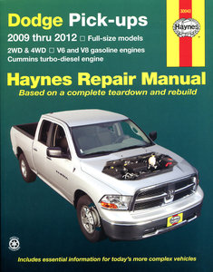 Dodge pick-up [2009-2012] Haynes manual