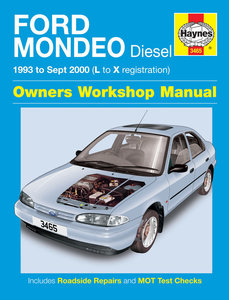 Ford Mondeo [1993-2000] diesel Haynes manual