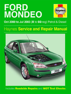 Ford Mondeo [2000-2003] Haynes manual