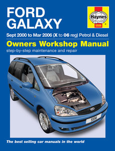 Ford Galaxy [2000-2006] Haynes manual