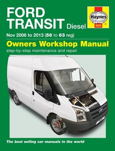 Ford Transit [2006-2013] Haynes manual