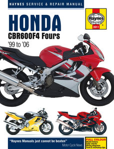 Honda CBR600 F4 [1999-2006] Haynes manual