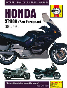 Honda ST1100 Pan European [1990-2002] Haynes manual