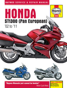 Honda ST1300 Pan European [2002-2011] Haynes manual