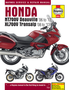 Honda XL700V Transalp [2006-2013] Haynes manual