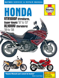 Honda XL1000V (Varadero) [1999-2008] Haynes manual