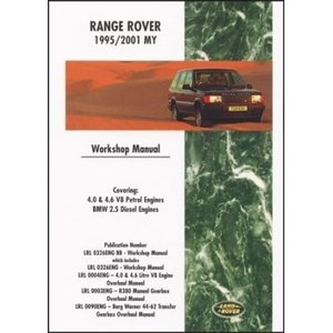 Range Rover [1995-2001] Workshop Manual
