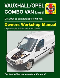 Opel Combo [2001-2012] Haynes manual