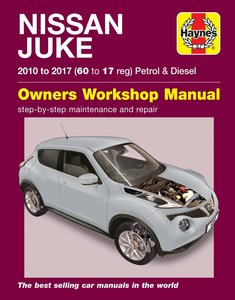 Nissan Juke [2010-2017] Haynes manual
