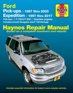 Ford pick-up & Expedition [1997-2017] Haynes manual