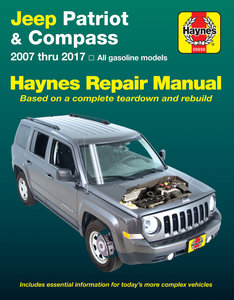 Jeep Patriot & Compass [2007-2017] Haynes Manual