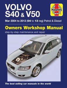 Volvo S40 & V50 [2004-2013] Haynes manual