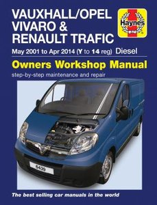 Opel Vivaro [2001-2014] Haynes manual