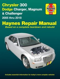 Chrysler 300c Dodge Challenger Charger Magnum [2005-2018] Haynes manual