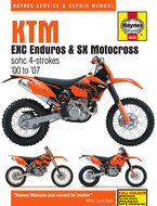 KTM-EXC-Enduro-&-SX-Motocross-[2000-2007]-Haynes-manual