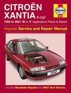 Citroen-Xantia-[1993-2001]-Haynes-manual