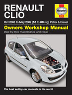 Renault-Clio-[2005-2009]-Haynes-manual