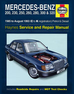 Mercedes-W124-serie-[1985-1993]-Haynes-manual
