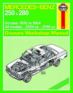 Mercedes-W123-series-benzine-[1976-1984]-Haynes-manual