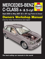 Mercedes-C-[2000-2007]-Haynes-manual