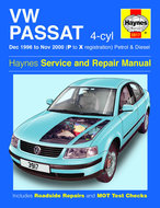 VW-Passat-[1996-2000]-Haynes-manual