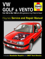 VW-Golf-[1992-1998]-Haynes-manual