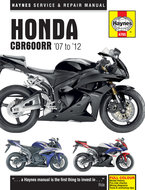 Honda-CBR600RR-[2007-2012]-Haynes-manual