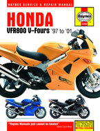 Honda-VFR800-[1997-2001]-Haynes-manual