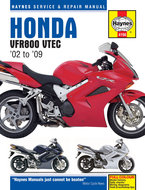 Honda-VFR800-[2002-2009]-Haynes-manual