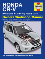 Honda-CR-V-[2002-2006]-Haynes-manual