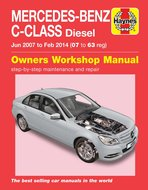 Mercedes-C-[2007-2014]-diesel-Haynes-manual